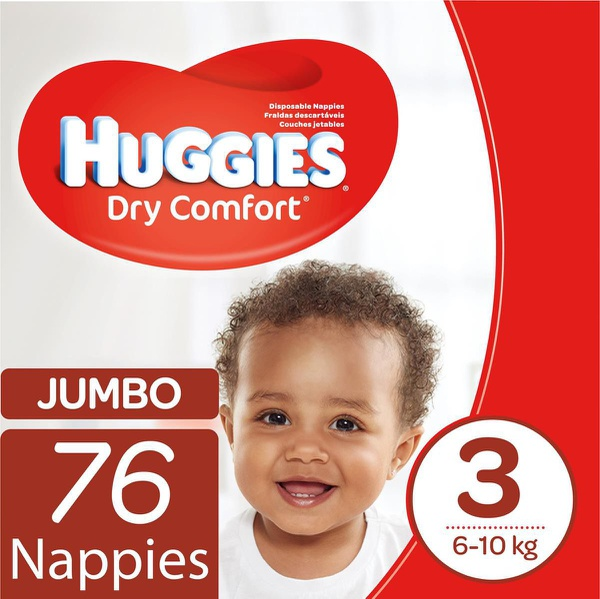 Huggies - dry comfort size 3 76 picture