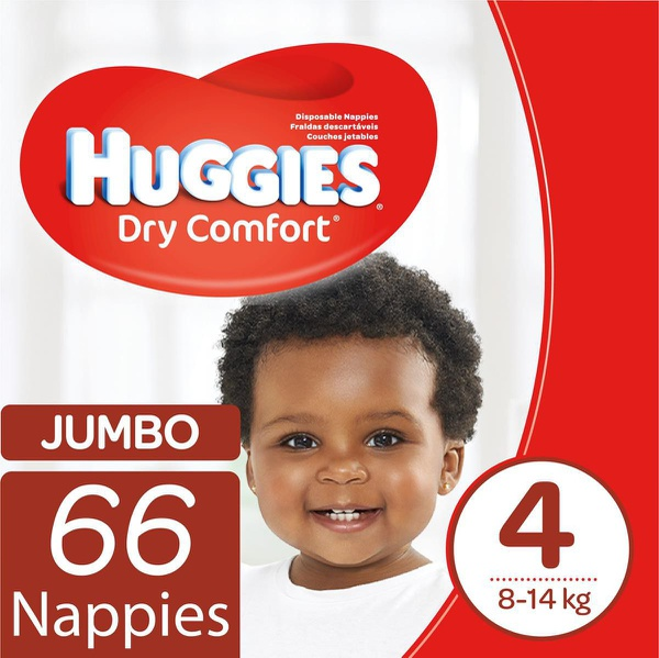 Huggies - dry comfort size 4 66 picture