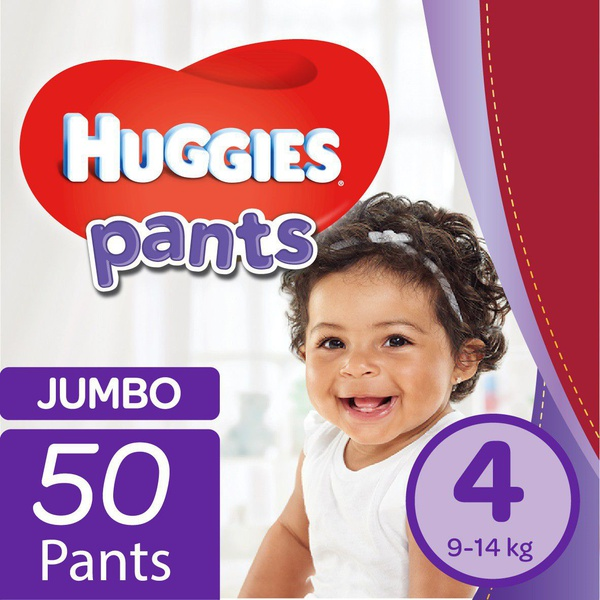 Huggies - nappy pants size 4 jumbo pack - 50's picture