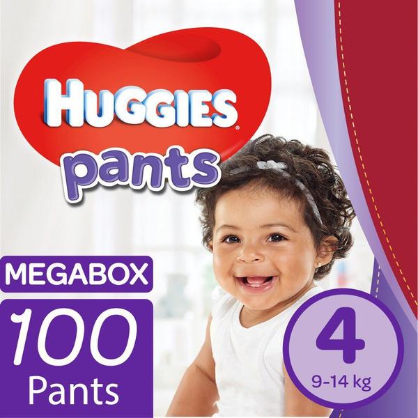 Huggies - nappy pants size 4 mega box picture