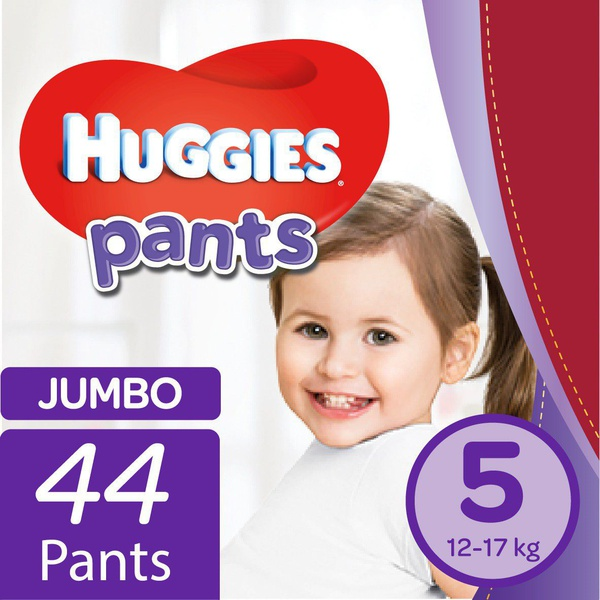 Huggies - nappy pants size 5 jumbo pack - 44's picture