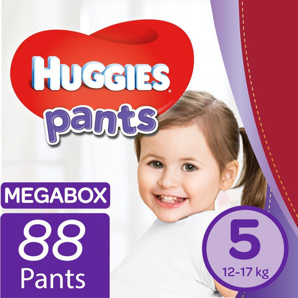 Huggies - nappy pants size 5 mega box picture