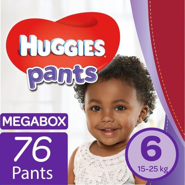 Huggies - nappy pants size 6 mega box picture