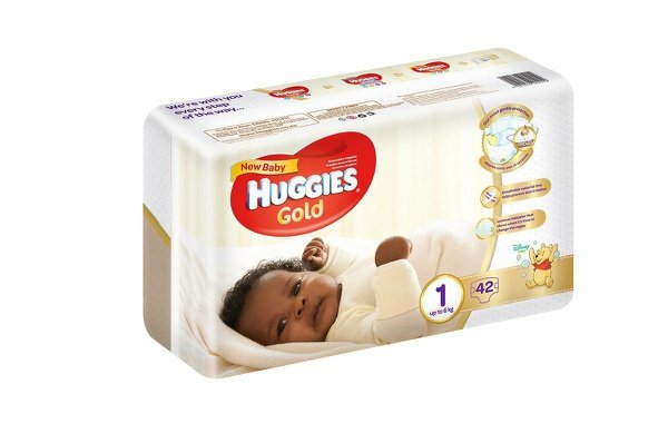 Huggies - new baby - size 1 x 42 nappies (up to 6kg) picture