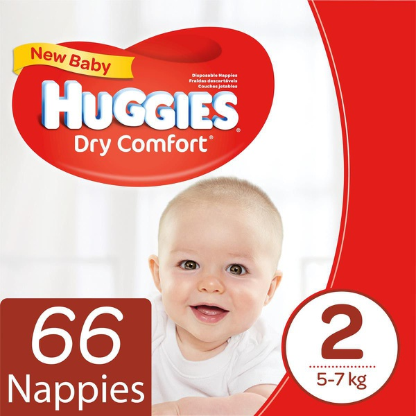 Huggies dry comfort - size 2 picture
