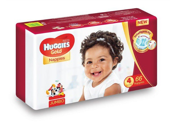 Huggies gold - size 4 jumbo pack - 66's picture