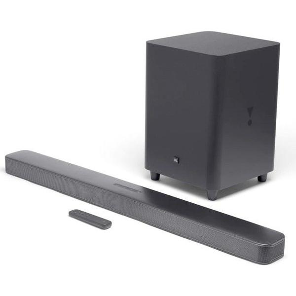 Jbl bar 5.1 surround soundbar with multibeam sound technology black picture