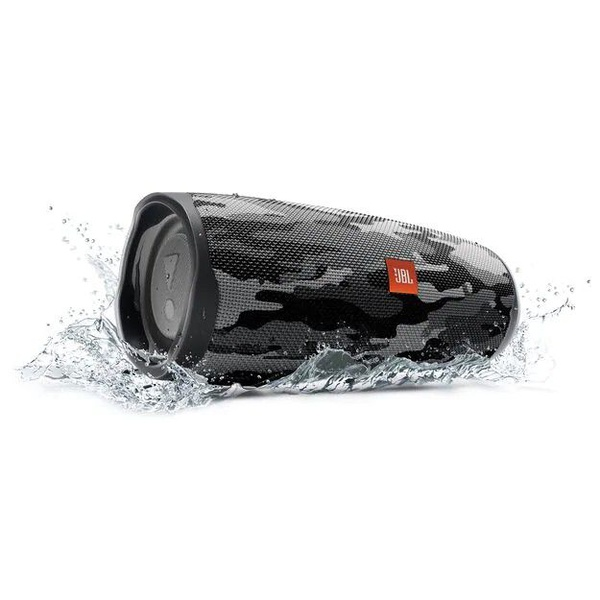 Jbl charge 4 waterproof portable bluetooth speaker camo black picture