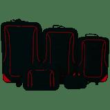 Mainstays - 5 piece luggage set bi0030y picture