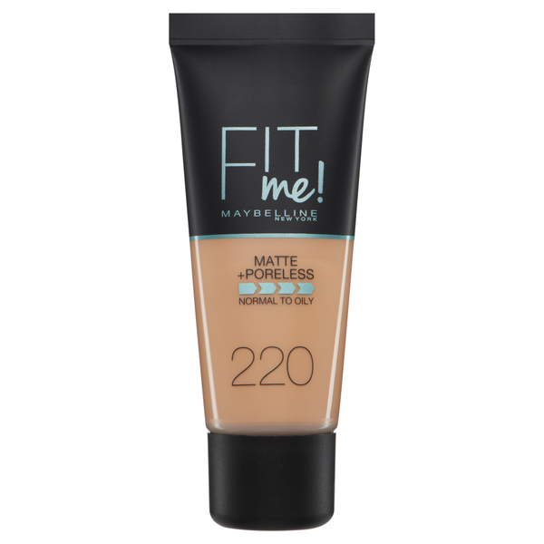 Maybelline fit me foundation 220 natural beige - 30ml picture