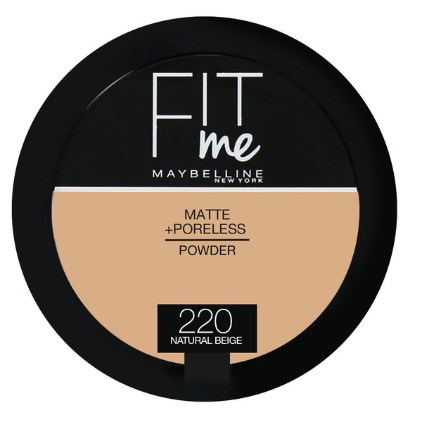 Maybelline fit me powder 220 natural beige - 9g picture