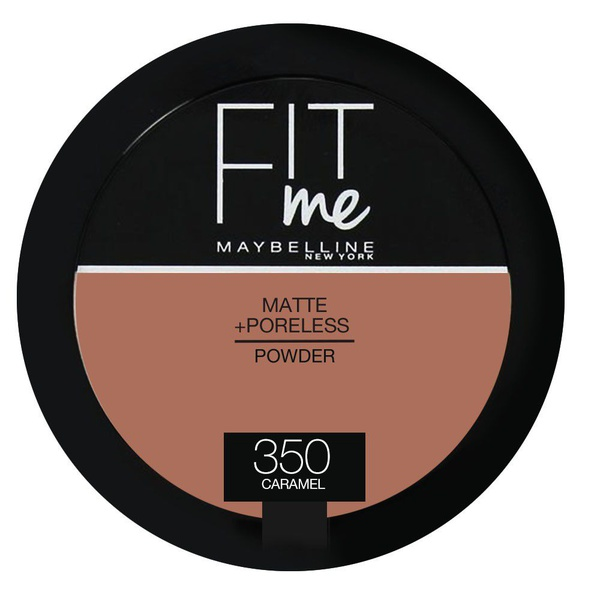 Maybelline fit me powder 350 caramel os - 9g picture