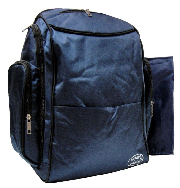 Mothers choice backpack diaper bag navy picture