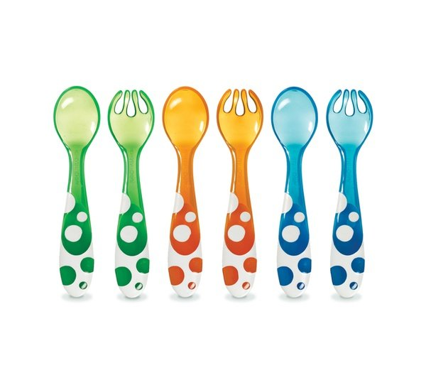 Munchkin 6pce multi fork and spoons picture
