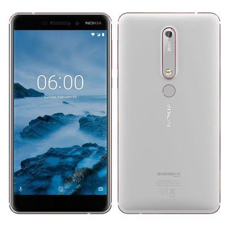 Nokia 6,1 single sim - white picture