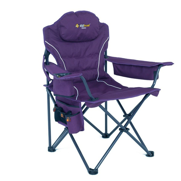 Oztrail modena purple chair picture