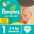 Pampers new baby-dry size 1 new born 27 per pack picture