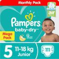 Pampers baby dry - size 5 mega pack - 111 nappies picture