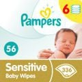 Pampers sensitive baby wipes - 6 x 56 - 336 wipes picture