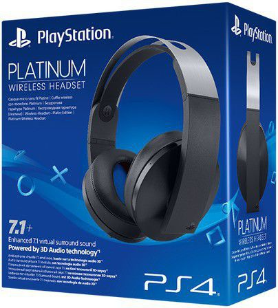 Platinum wireless headset (ps4) picture
