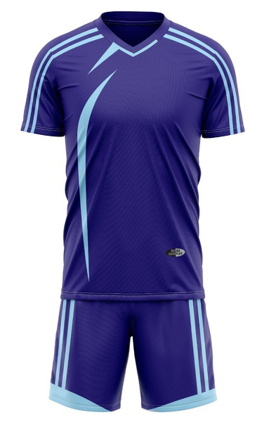 Ronex rc-721 soccer kit combo (adult) - navy/sky picture