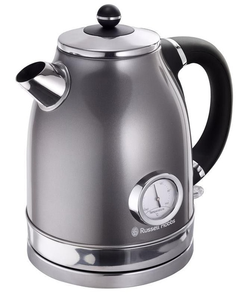 Russell hobbs vintage cordless kettle - grey picture