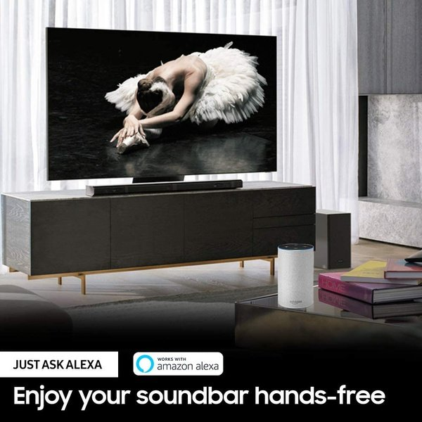 Samsung hw-q70t 3.1.2ch  soundbar with dolby atmos/dts:x (2020) picture