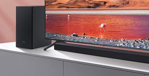 Samsung hw-t450 2.1ch soundbar with dolby audio (2020) picture