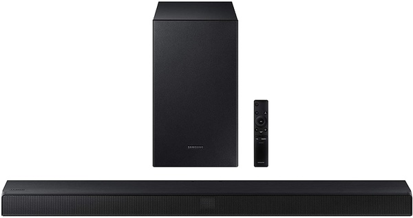 Samsung hw-t550 2.1ch soundbar with dolby audio / dts virtual:x (2020) picture