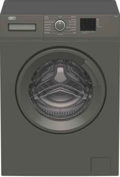 Defy 6kg front load washing machine grey daw382 picture