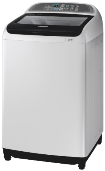 Samsung 13kg active dual wash top load w/machine wa13j5710sg.fa picture