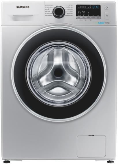 Samsung 7kg front load washing machine metallic ww70j4263gs.fa picture