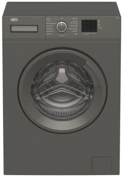 Defy 6kg front load washing machine grey daw382 picture