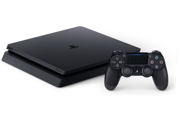 Sony playstation 4 slim 1tb console - black picture