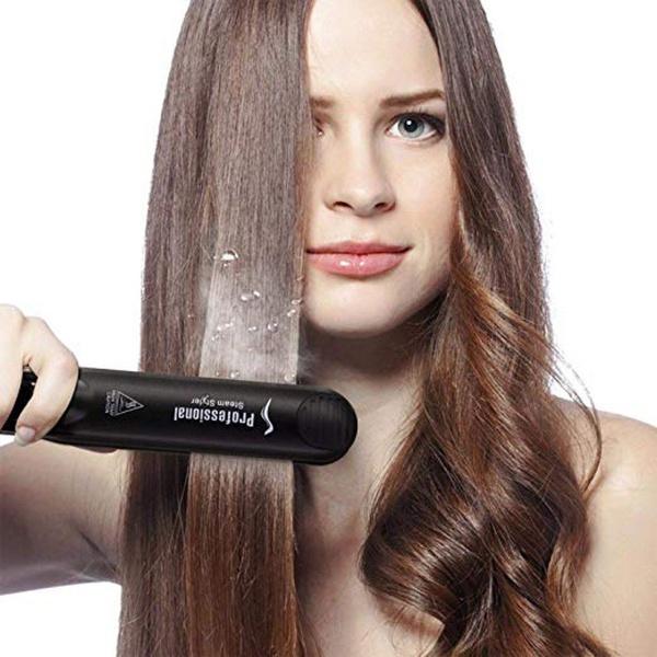 Steam hair straightener flat iron professional ceramic tourmaline picture