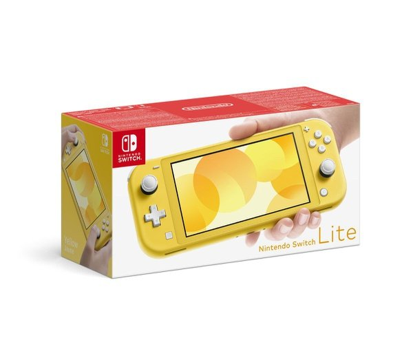 Switch lite yellow picture