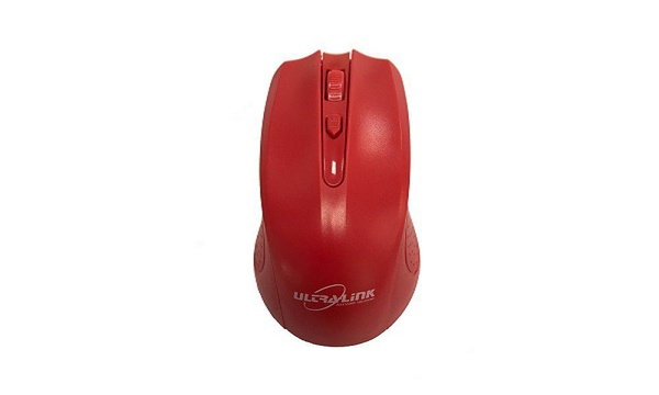 Ultra link wireless optical mouse - red picture