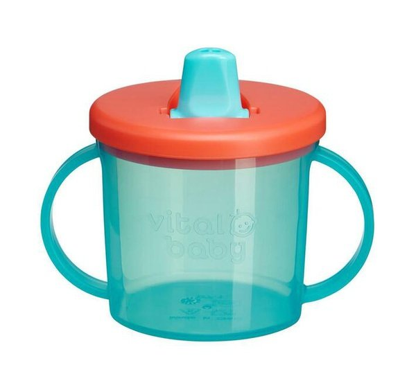 Vital baby free flow cup - mixed picture