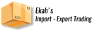 Ekah's Import & Export Trading Logo