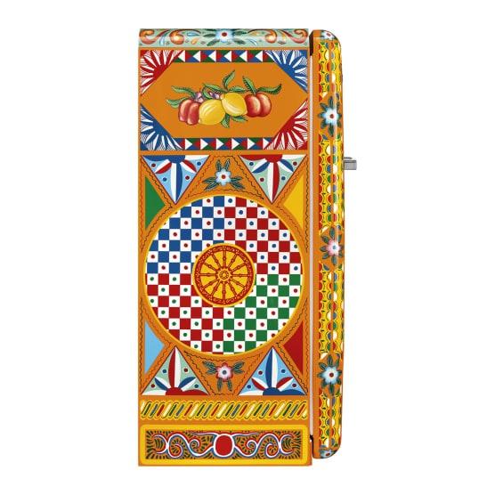 Smeg dolce & gabbana refrigerators divina cucina retro fridge, 281l picture