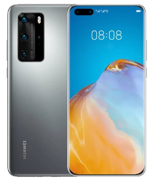 Huawei p40 pro 256gb dual sim - silver frost picture