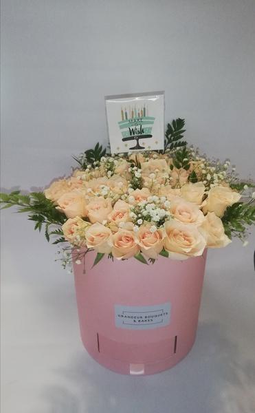 Bespoke flower arrangements picture