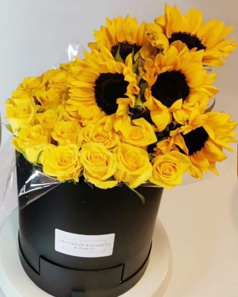 Sunshine fleur luxury box picture