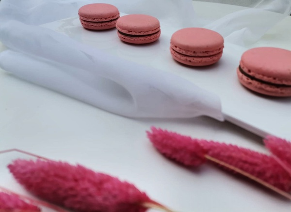 French macrons picture