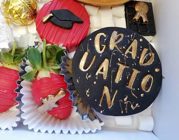 Graduation grazing box picture