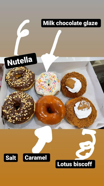 Loaded doughnuts picture