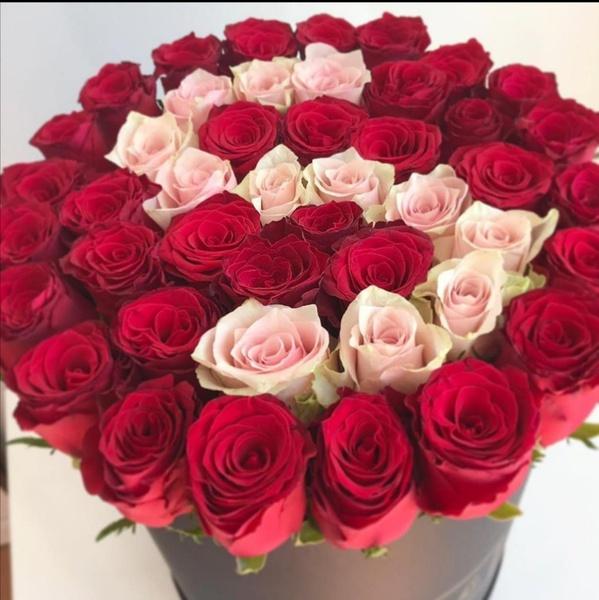 Monogram luxury rose bouquet picture