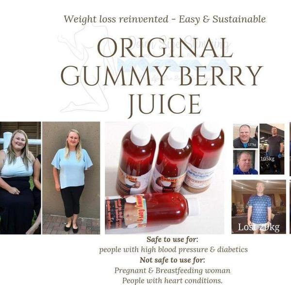 Original gummy berry juice picture