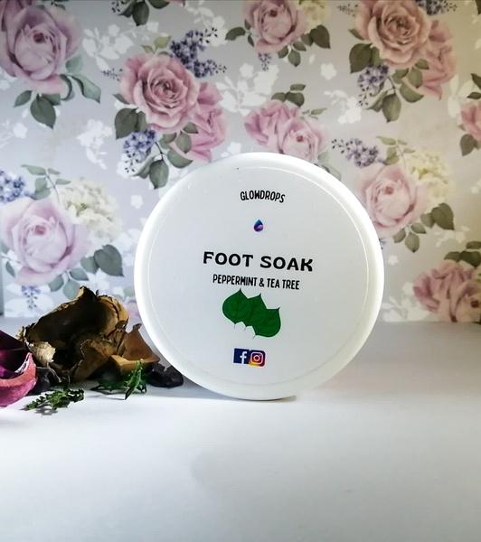Peppermint & tea tree foot soak 250g picture