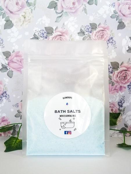 Eucalyptus & peppermint bath salts 500g picture